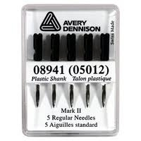 05012 Avery Dennison Standard Replacement Needles PACK OF 5