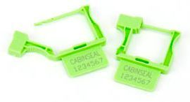 C931 Plastic Padlocseal (Box of 1000) SEQUENTIALLY NUMBERED